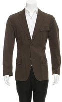 John Varvatos Two-Button Deconstructed Blazer