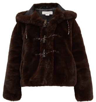 Golden Goose Tsuba Faux Fur Hooded Jacket - Womens - Brown