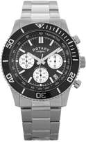 Rotary Men's Stainless Steel Chronograph Watch