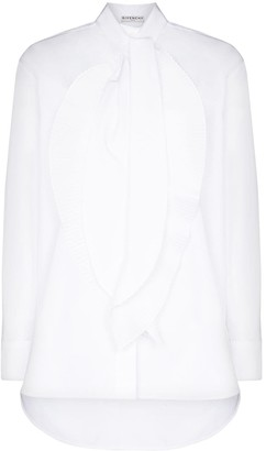 Givenchy Scarf-Neck Long-Sleeve Blouse