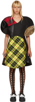 Junya Watanabe Multicolor Wool Tartan Mix Dress