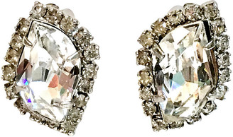 One Kings Lane Vintage 1960s Weiss Crystal Earrings - Jacki Mallick Designs