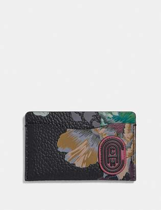 Coach Small Card Case With Kaffe Fassett Print