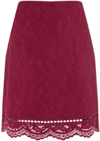 Warehouse Bonded Lace Pelmet Skirt
