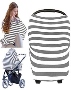 KeaBabies Carseat Canopy - Breastfeeding Nursing Cover