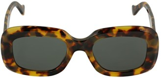 RetroSuperFuture Virgo Spotted Havana Acetate Sunglasses