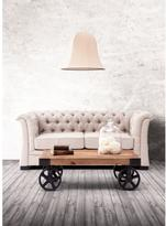 ZUO Barbary Coast Distressed Natural Cart Table
