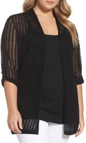 Nic+Zoe Plus Size Women's Sheer Nights Cardigan
