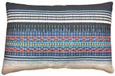 Kim Salmela Koto Embroidered 16x24 Pillow - Indigo