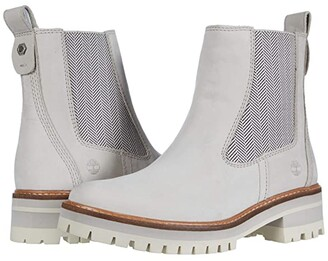 Timberland Courmayeur Valley Chelsea Boot (Light Taupe Nubuck) Women's Boots