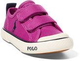 Ralph Lauren Carlisle III Canvas EZ Sneaker