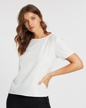 Atmos & Here Lucy Short Sleeve Top
