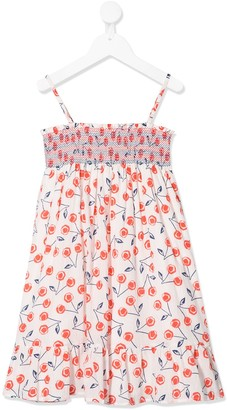 Bonpoint Cherry Print Dress