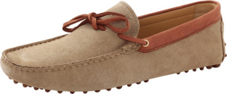 Le Tombeur Cappuccino Suede Loafer