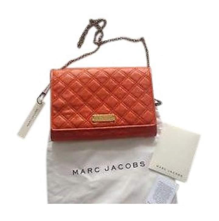 Marc Jacobs Orange Leather Handbag