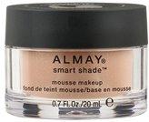 Almay Smart Shade Mousse Makeup, Light/Medium, 0.7 Fluid Ounce