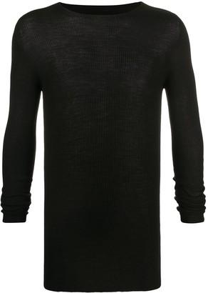 Rick Owens Ribbed Crew-Neck Sweater