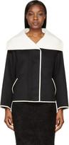Nina Ricci Black Oversized Collar Jacket
