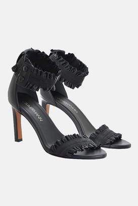 Zimmermann Elastic Strap Black Sandal