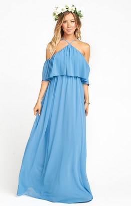 Show Me Your Mumu Rebecca Ruffle Maxi Dress