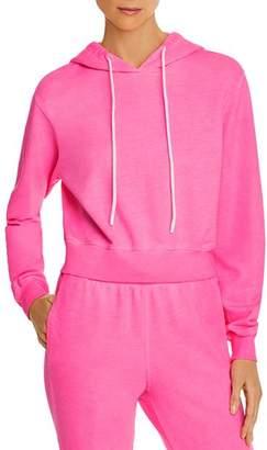 Cotton Citizen Milan Cropped Hooded Sweatshirt - 100% Exclusive
