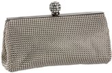 Whiting & Davis Dimple Mesh Framed Clutch