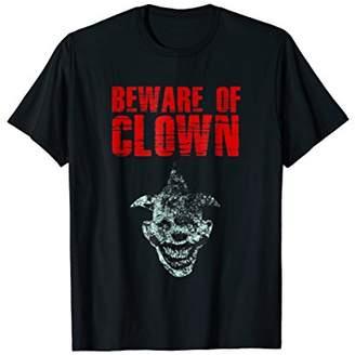 Beware Of Clown - Creepy Scary Clown Distressed Shirt