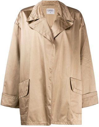 Chanel Pre Owned 1980's Loose Robe Style Jacket