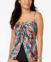 Miraclesuit High Frequency Jubilee Flyaway Tummy Control Tankini Top