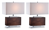 Lite Source Firmino Table Lamp (Set of 2)