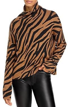 Pam & Gela Zebra Print Sweater