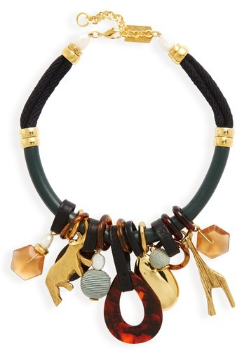 Lizzie Fortunato Women's Safari State Of Mind Collar Necklace