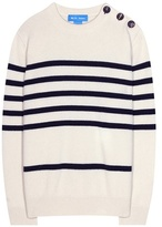 MiH Jeans Striped Cashmere Sweater