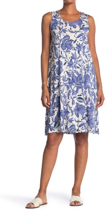 Philosophy di Lorenzo Serafini Floral Sleeveless A-Line Shift Dress