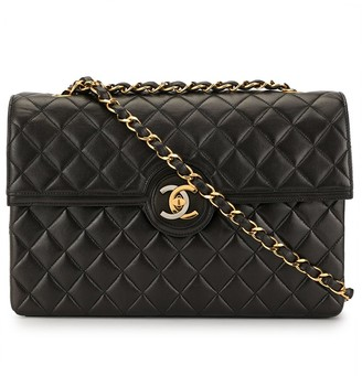 Chanel Pre Owned Paris Limited Quilted CC Chain Shoulder Bag