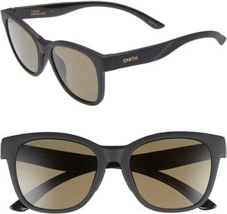 Smith Caper 53mm ChromaPop(TM) Polarized Square Sunglasses