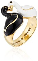 Kate Spade Swan Multi-Colored Ring, Size 7