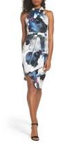 Cooper St Women's Fallen Petal High Neck Sheath Dress