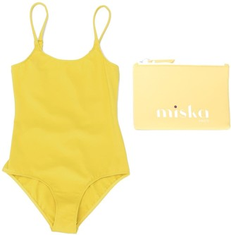Miska Paris TEEN scoop back swimsuit