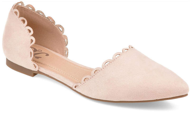 660b9d339 Pointed Toe Nude Flats - ShopStyle