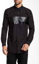 Junk De Luxe Tonal Stripe Long Sleeve Regular Fit Shirt