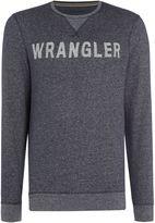 Wrangler Long Sleeve Crew Neck Logo Sweatshirt