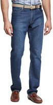 Peter Millar Crown Classic Straight-Leg Jean, Indigo