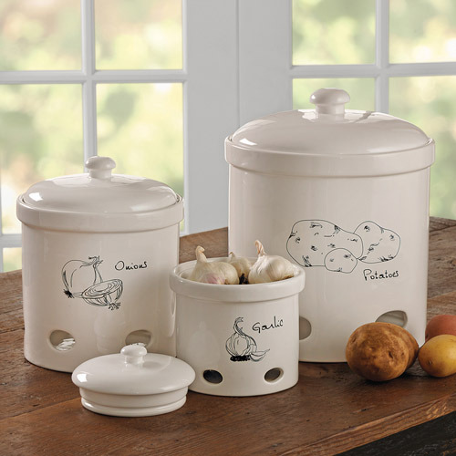 Chefs Farmer's Market Kitchen Canister Set