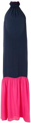 BRIGITTE Maxi Silk Dress