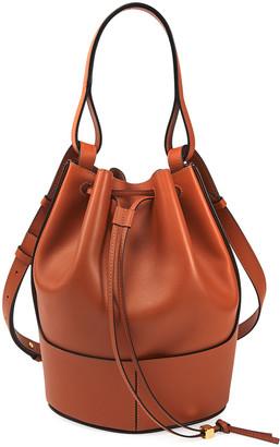 Loewe Balloon Leather Bucket Bag