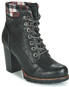 Tom Tailor women's Low Ankle Boots in Black