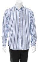 Robert Graham Striped Button-Up Shirt w/ Tags