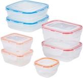 Lock & Lock Easy Essentials Color Mates 14-pc. Food Storage Container Set
