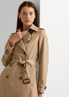 Ralph Lauren Cotton-Blend Trench Coat